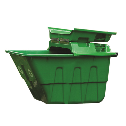 Outdoor Four Wheel Garbage Cart Image 13