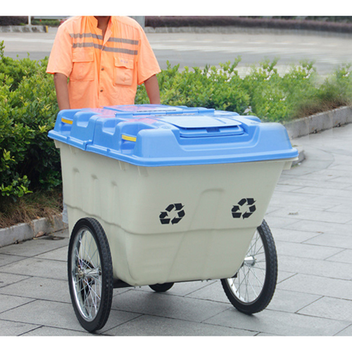 Outdoor Four Wheel Garbage Cart Image 15