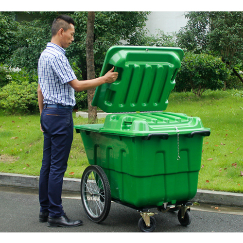 Outdoor Four Wheel Garbage Cart Image 17