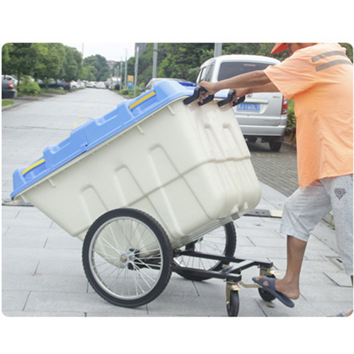 Outdoor Four Wheel Garbage Cart Image 22