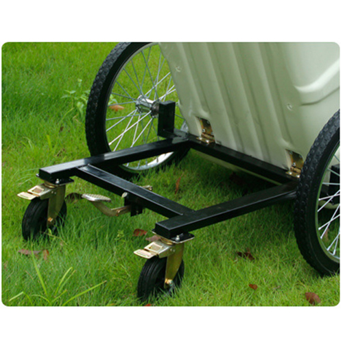 Outdoor Four Wheel Garbage Cart Image 24