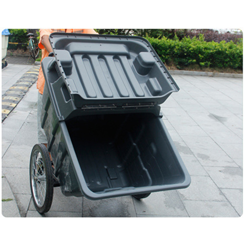 Outdoor Four Wheel Garbage Cart Image 28
