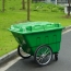 Outdoor Four Wheel Garbage Cart Image 2