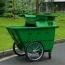 Outdoor Four Wheel Garbage Cart Image 3