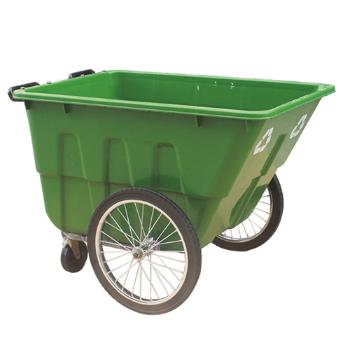 Outdoor Four Wheel Garbage Cart Image 5