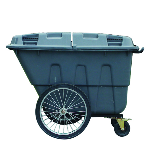 Outdoor Four Wheel Garbage Cart Image 6