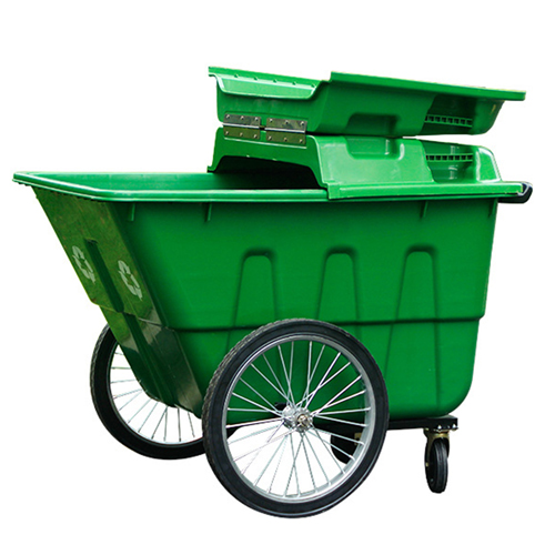 Outdoor Four Wheel Garbage Cart