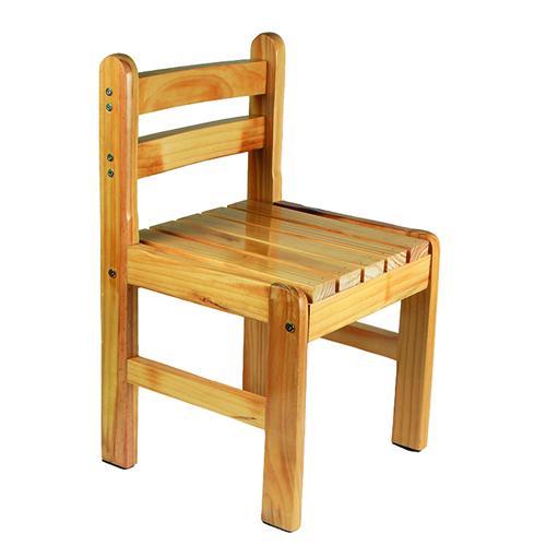 Kindergarten Solid Wood Study Chair Image 10
