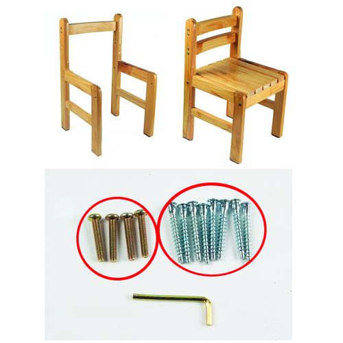 Kindergarten Solid Wood Study Chair Image 14