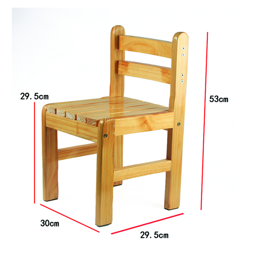Kindergarten Solid Wood Study Chair Image 17