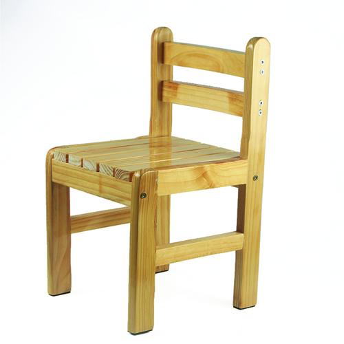 Kindergarten Solid Wood Study Chair Image 1