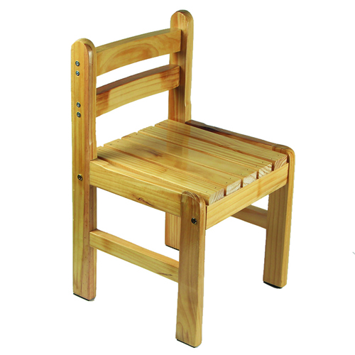 Kindergarten Solid Wood Study Chair Image 2