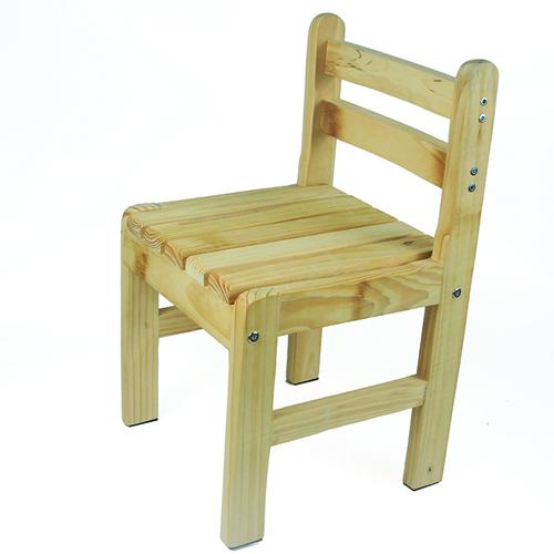 Kindergarten Solid Wood Study Chair Image 4