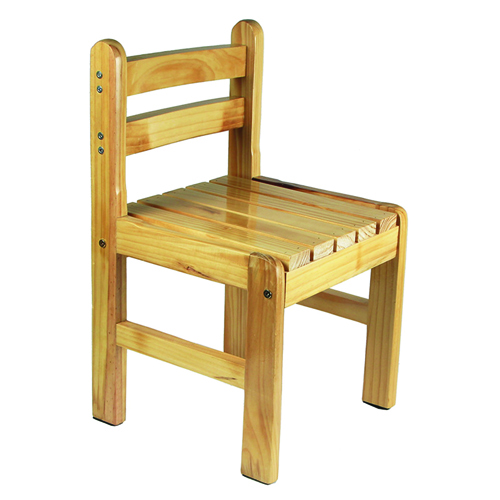 Kindergarten Solid Wood Study Chair Image 5