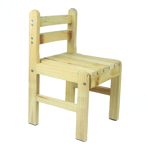 Kindergarten Solid Wood Study Chair Image 7