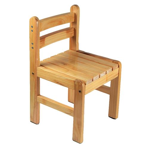 Kindergarten Solid Wood Study Chair