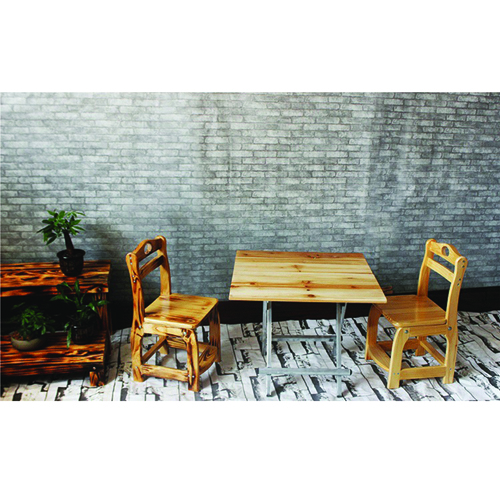 Square Wooden Folding Table Image 6