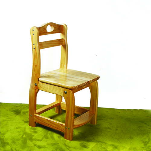 Kindergarten Wooden Small Chair Image 1