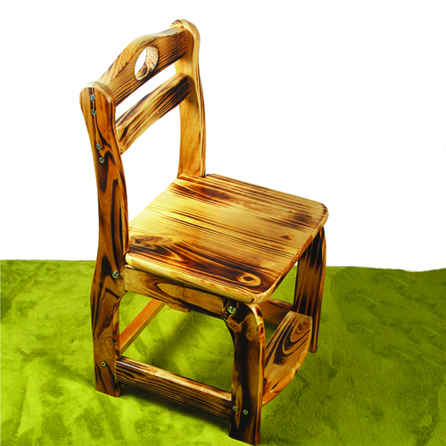Kindergarten Wooden Small Chair Image 2