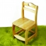 Kindergarten Wooden Small Chair Image 4