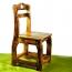 Kindergarten Wooden Small Chair Image 5
