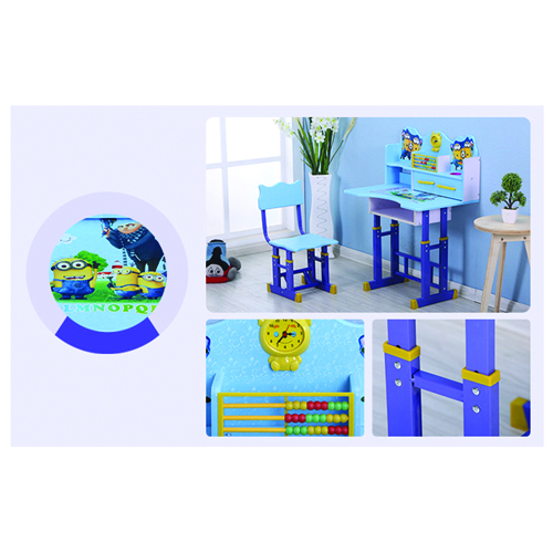 Multi-Functional Learning Table Chair Set Image 11