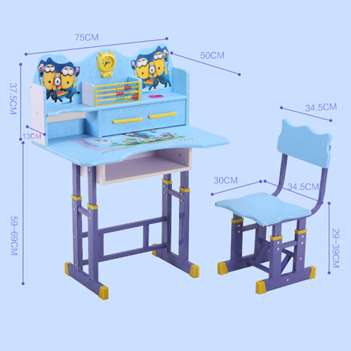 Multi-Functional Learning Table Chair Set Image 26