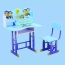 Multi-Functional Learning Table Chair Set Image 5