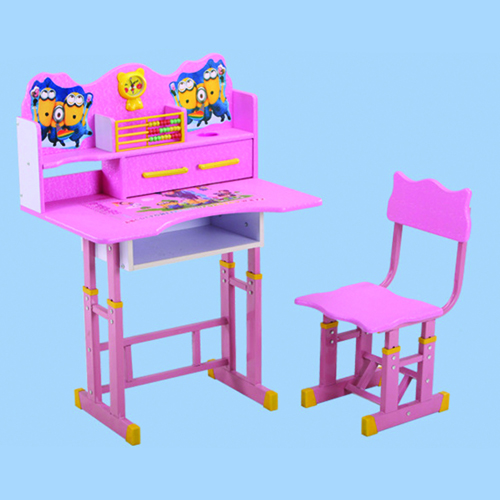 Multi-Functional Learning Table Chair Set Image 6