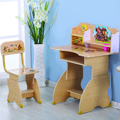 Ergonomic Children Study Lift Desk Set Image 1
