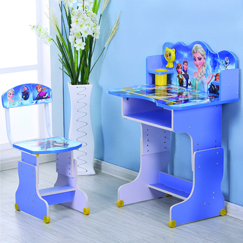 Ergonomic Children Study Lift Desk Set Image 2