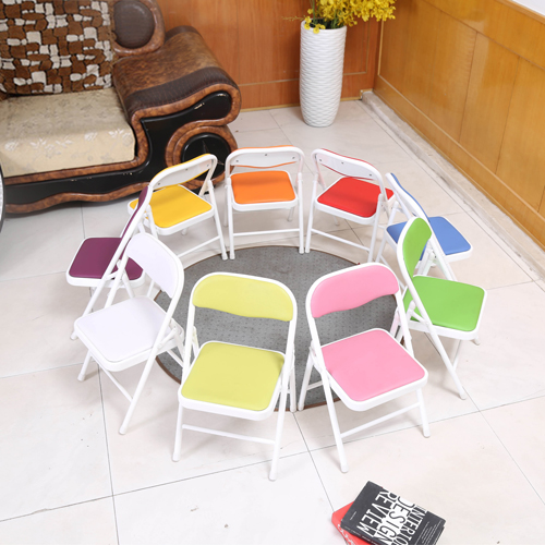 Kids Foldable Padded Chair Image 1