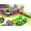 Nursery Adjustable Kids Table With Chairs Image 4
