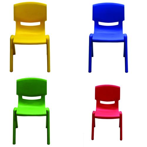 Cuisine Plastic Stackable Kids Chair Image 2