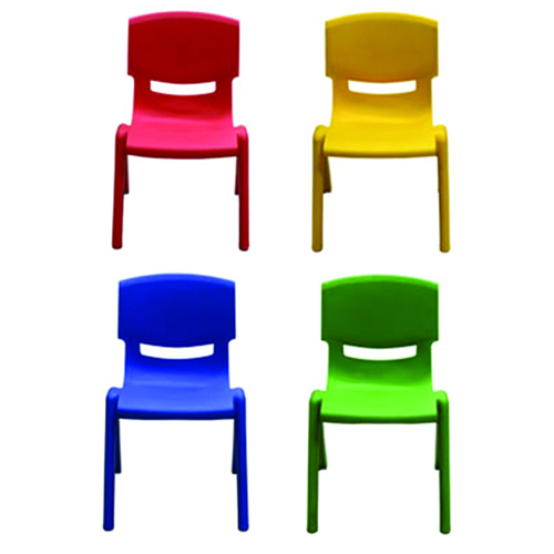 Cuisine Plastic Stackable Kids Chair Image 4