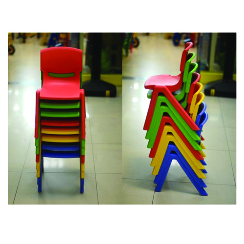 Cuisine Plastic Stackable Kids Chair Image 6
