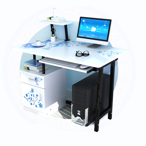 Simple Wooden Student Computer Desk Image 18