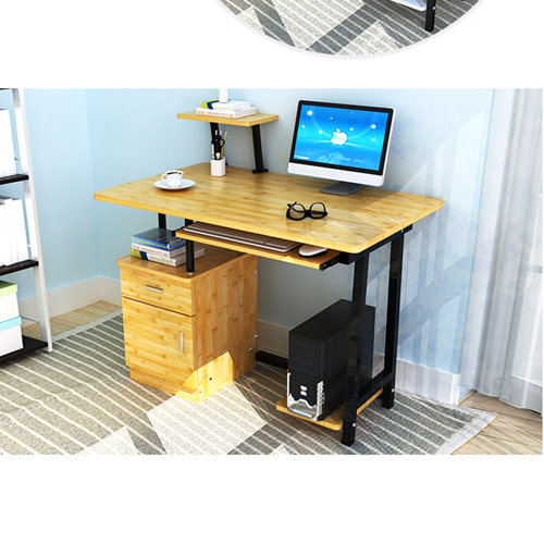 Simple Wooden Student Computer Desk Image 21