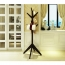 Creative Wooden Clothes Hanger Stand Image 12