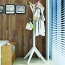 Creative Wooden Clothes Hanger Stand Image 6