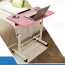 Besto Adjustable Study Laptop Table With Wheel Image 17