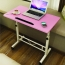 Besto Adjustable Study Laptop Table With Wheel Image 2
