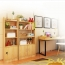 Modern Wooden Bookshelf With Cabinet Image 10