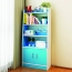 Modern Wooden Bookshelf With Cabinet Image 2