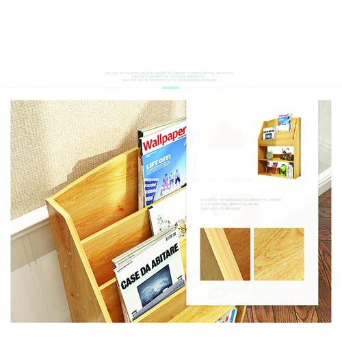 Open Face Kids Bookshelf Image 14