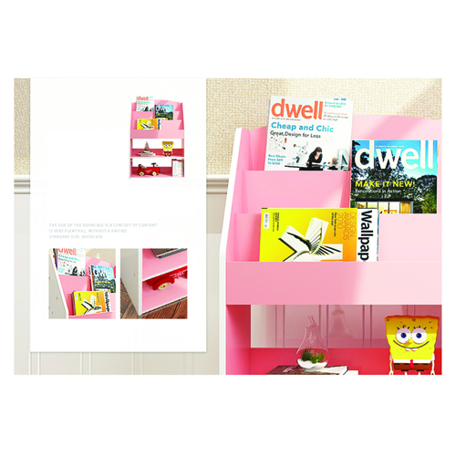 Open Face Kids Bookshelf Image 15