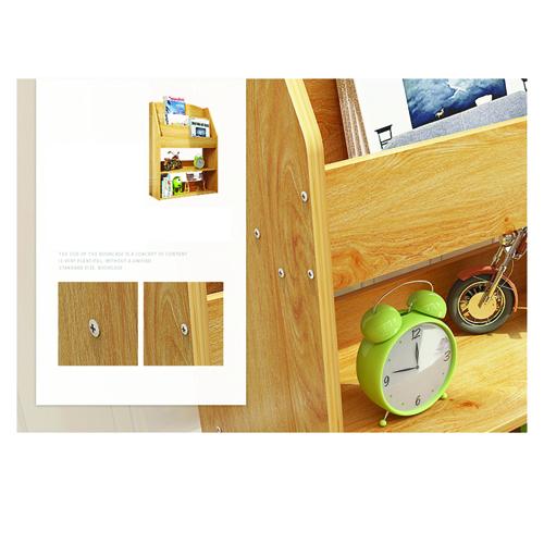 Open Face Kids Bookshelf Image 17