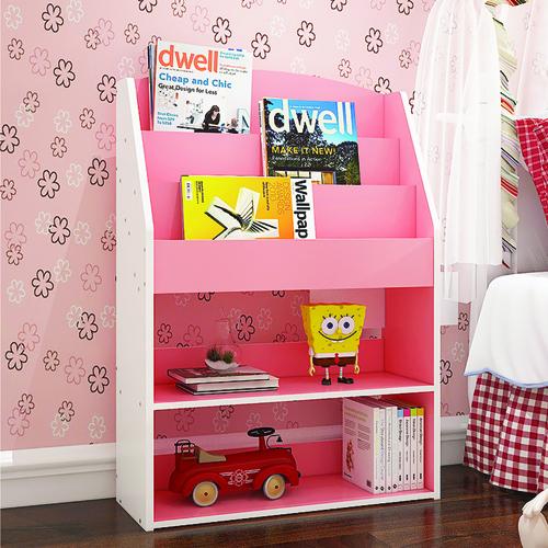 Open Face Kids Bookshelf Image 1