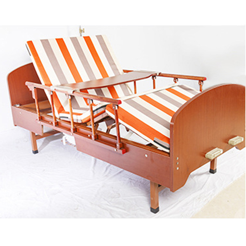 Multi-Function Double Swing Medical Bed Image 10
