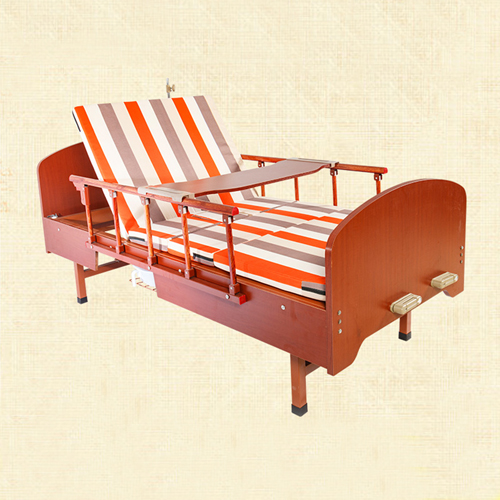 Multi-Function Double Swing Medical Bed Image 1